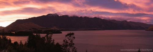 Sunrise on the Remarkables