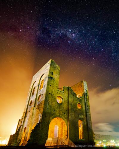 Milky Way over Blast Furnace