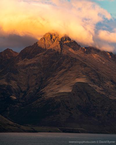 Sunrise on Walter Peak